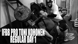 IFBB PRO TONI KOHONEN REGULAR DAY 1