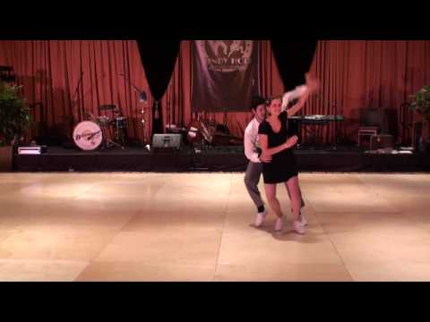 ILHC 2010  Classic Lindy  Josh McLaughlin & Emily McLaughlin