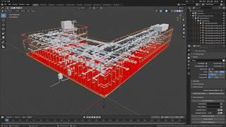 BlenderBIM Add-on Demo: Section Planes