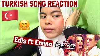 TURKISH SONG REACTION!  ( Edis feat. Emina - Güzelliğine ) Video