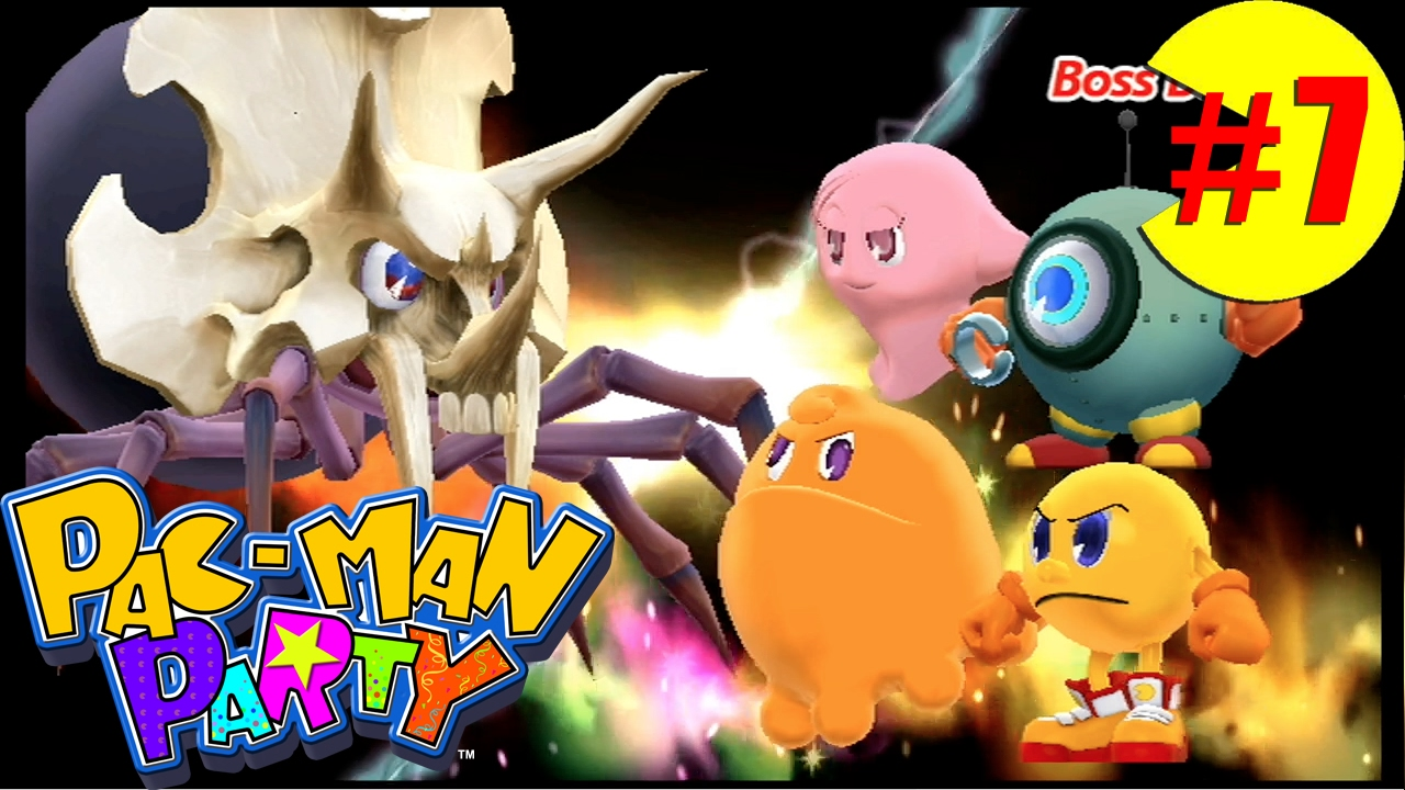 Deviantart Mii Pac Man Party Patra