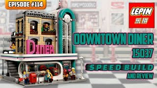 ATN #114 - Lepin 15037 Downtown Diner Speedbuild / Review (Lego 10260 knockoff)