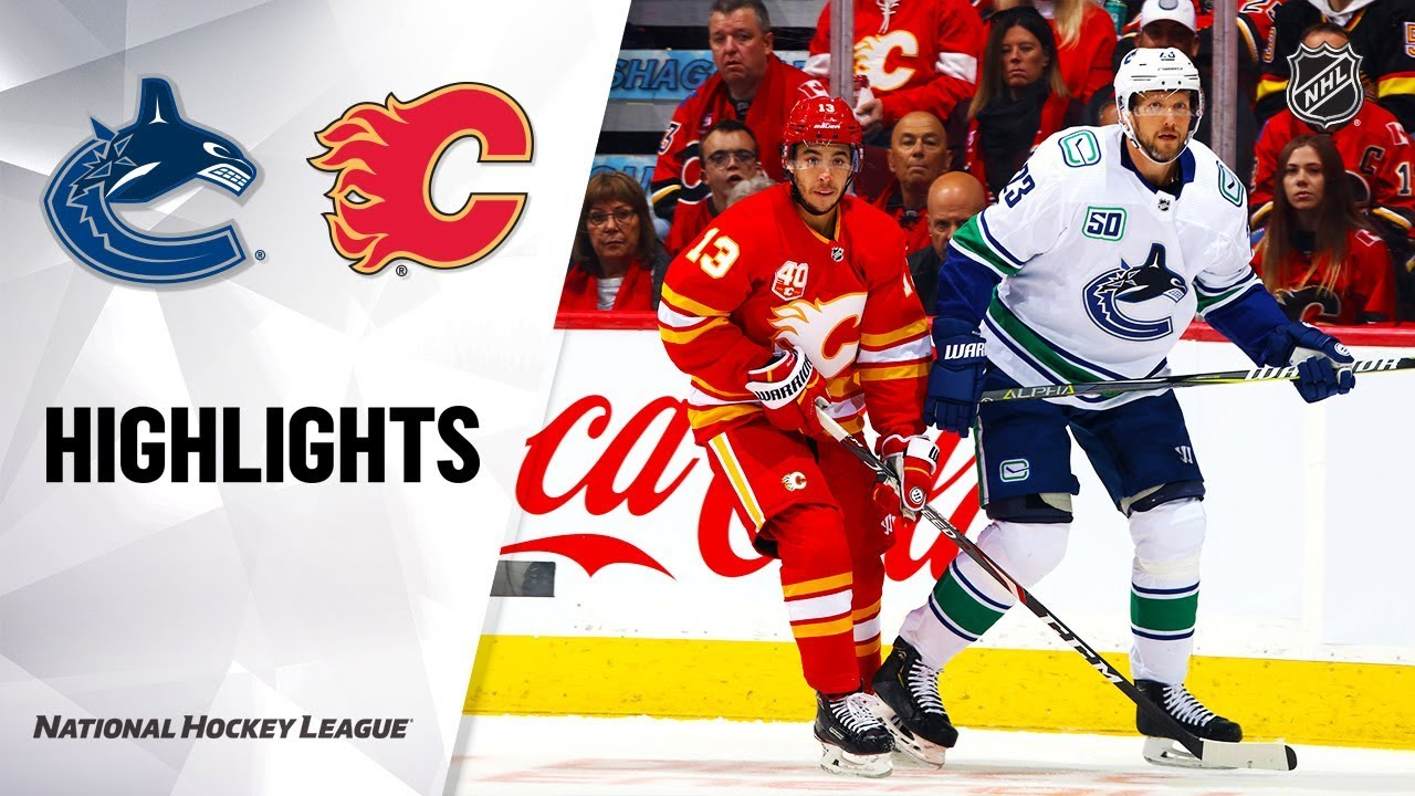 Iwtg Turnovers Cost Sloppy Canucks In Shutout Loss To Flames Vancouver Courier