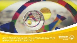 Video Promocional de los Juegos Mundiales de Verano SO,Los Ángeles 2015