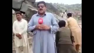 funny Pakistani news reporter fail