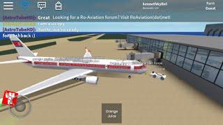 (Roblox) Air Koryo Business Class (Tu-204)