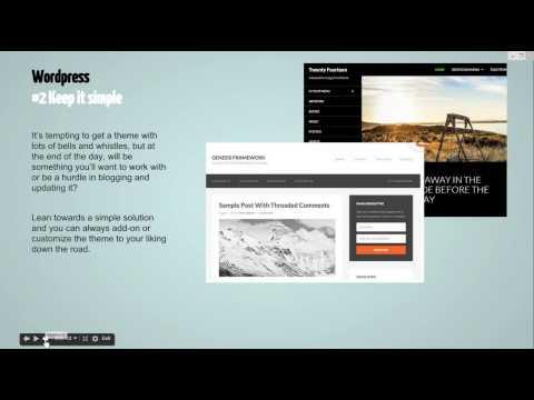 Web Hosting & Wordpress Basics for Artists