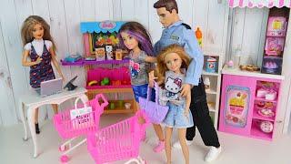 На Карантине  В Магазине Всё Бесплатно??? Мультики #Барби Куклы для девочек IkuklaTV
