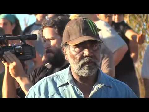 Revolution - Block Aid Action against Woodside - Save the Kimberley