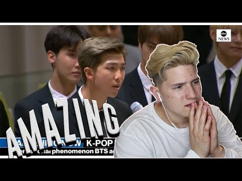 Reacting to BTS' Speech at the UN | This is unbelievable