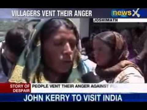 Uttarakhand flood 2013: Villagers vent anger