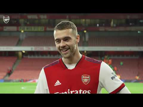 Calum Chambers on scoring after being on the pitch just 23 seconds!