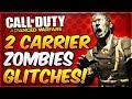 Advanced Warfare Zombies Glitches - 2 CARRIER Godmode Glitches! (AW Exo Zombies Glitch Spots)