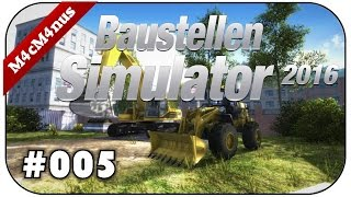 Baustellen Simulator 2016 #005 - Dreckige Kackhaufen ★Construction Machines Simulator 2016