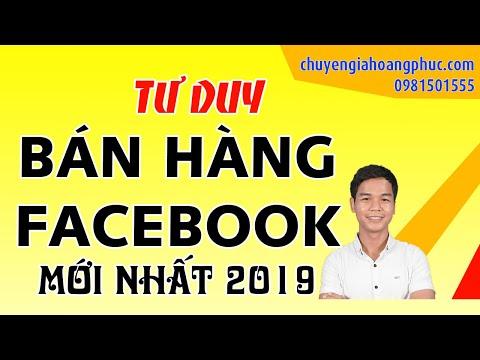 Hướng Dẫn Bán Hàng Trên Trang Cá Nhân Facebook