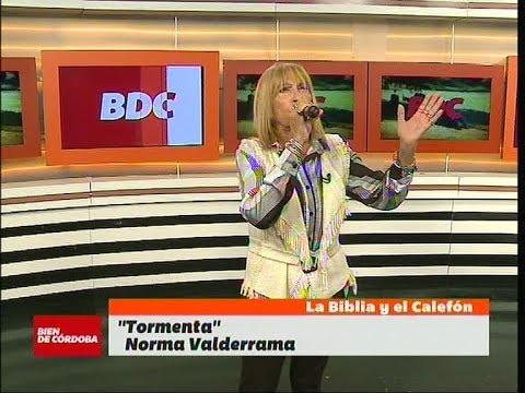 """Norma Valderrama en vivo en Bien De Córdoba: """"Tormenta"""""""
