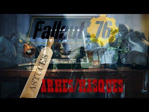 FALLOUT 76// EMPLACEMENT D'ARMES ET MASQUES ORIGINAUX