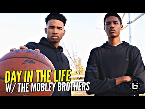 Day In The Life w/ Compton Magic's Mobley Brothers!! How Them MAGIC Boys Roll!