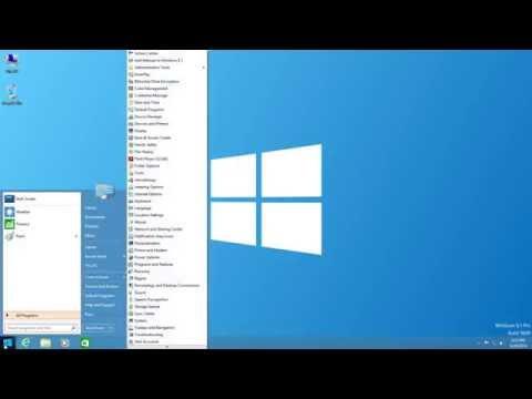 Start Menu On Windows 8 (Classic Shell)