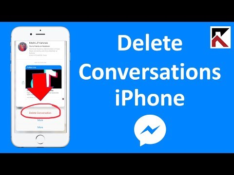 How Do I Delete Conversations In Facebook Messenger IPhone 2018