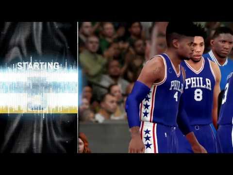 NBA 2K16 MyGM | Philadelphia 76ers | First Game, We