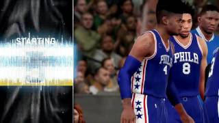 Nba 2k16 mygm | philadelphia 76ers | first game, we're not trash? what?