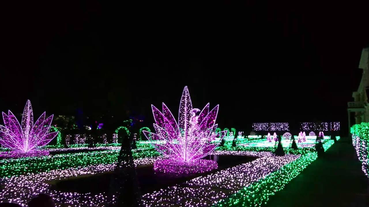 Królewski Ogród światła Wilanów 2016