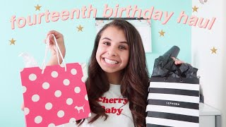 WHAT I GOT FOR MY 14TH BIRTHDAY | 2019