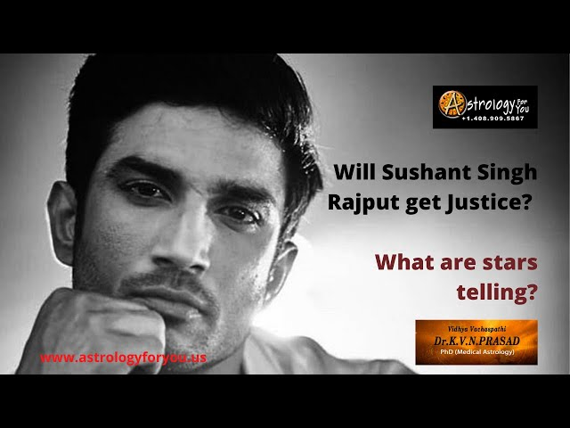 Will Sushant Singh Rajput get Justice?