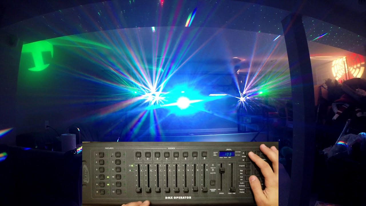 How To Use Dmx Controller With Lights