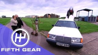 Fifth Gear The Bond Ejector Seat смотреть