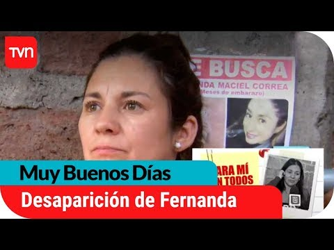 Desaparición de Fernanda: Vecino sospechoso aún no aparece   Muy buenos días