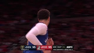 4th Quarter, One Box Video: Portland Trail Blazers vs. Denver Nuggets