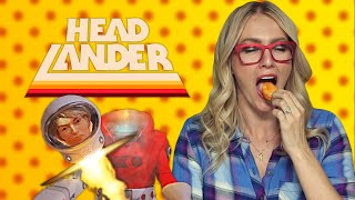 Headlander | Hot Pepper Game Review ft. Ashley Esqueda