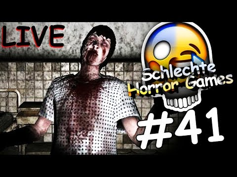 SCHLECHTE HORROR GAMES #41 (LIVE)