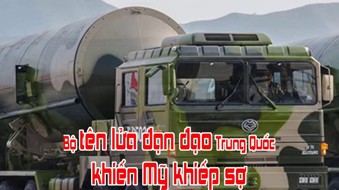 Bộ tên lửa đạn đạo Trung Quốc khiến Mỹ khiếp sợ