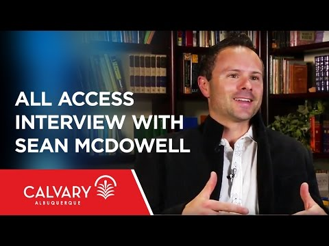 All Access Interview With Sean McDowell - Skip Heitzig