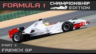 F1 Championship Edition Career Mode Season 2 - Round 11 French Grand Prix