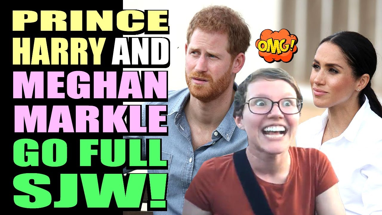Prince Harry and Meghan Markle go FULL SJW! Reaction to their Political Video!