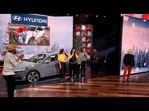 Ellen Gifts Deserving Family with Two Brand-New Cars!