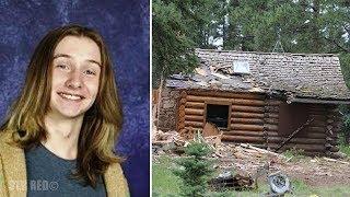 Policía busca a este joven desaparecido por años, pero al entrar a esta cabaña quedaron horrorizados