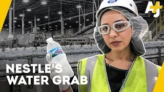 How Nestle Makes Billions Bottling Free Water | Direct From With Dena Takruri - AJ+