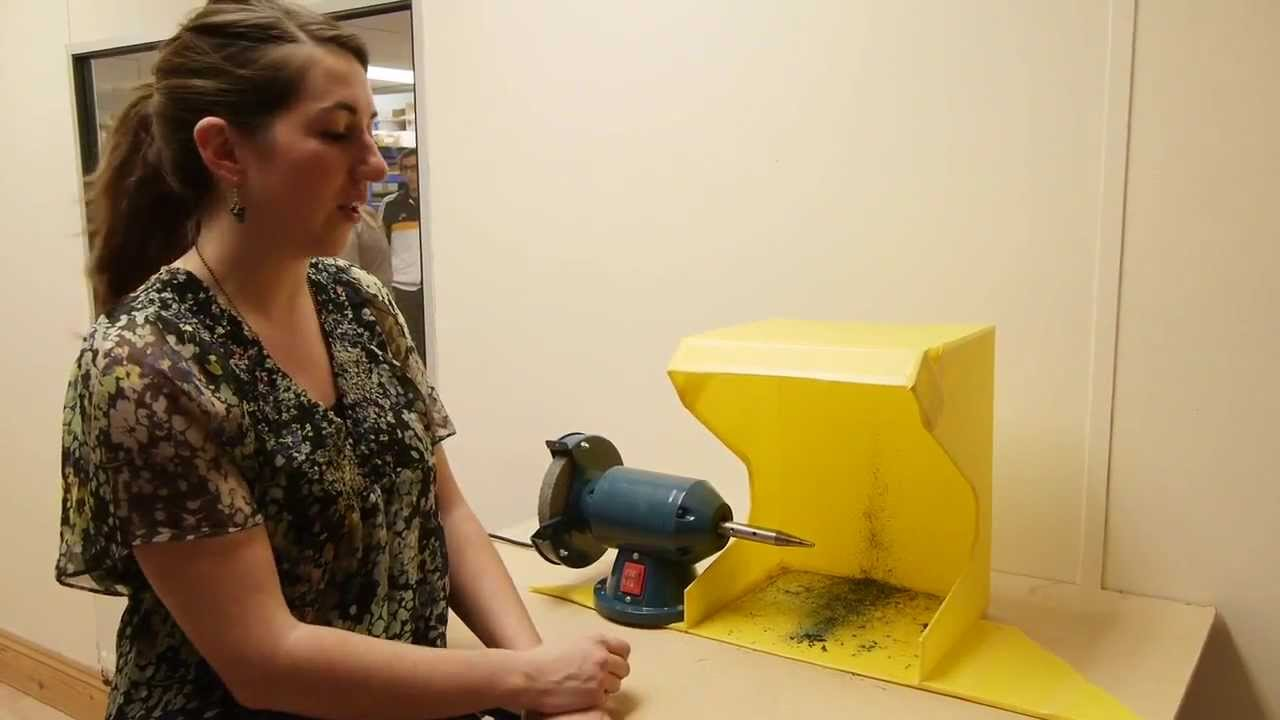 Bench Polisher With Dust Hood And Extraction For All Metal