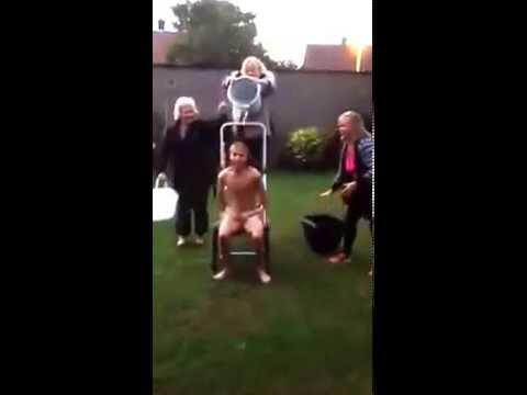 Daniel Huttlestone ALS Ice Bucket Challenge