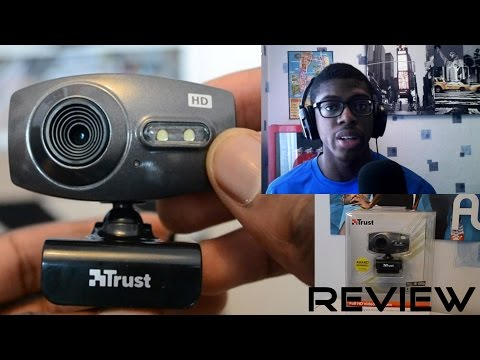 Trust Full HD Webcam Unboxing/Review/Video Test