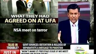 The Buck Stops Here - Indo-Pak NSA talks in jeopardy? (featuring G Parthasarathy)