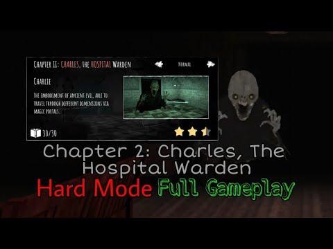 Eyes - The Horror Game - Charles, The Hospital Warden In Hard Mode Full Gameplay