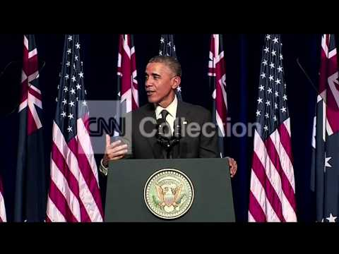 AUSTRALIA: OBAMA CROCODILE INSURANCE (FUNNY)