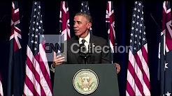 AUSTRALIA: OBAMA CROCODILE INSURANCE (FUNNY)