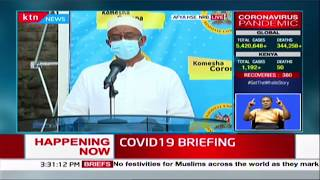 COVID-19 BRIEFING: Kenya reports 22 new cases, 3 recoveries, 1 death today